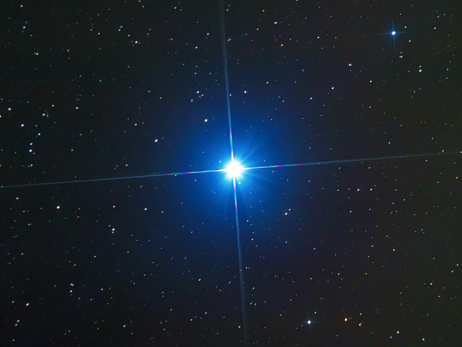 Звезда Вега α (Альфа) Созвездия Лиры.